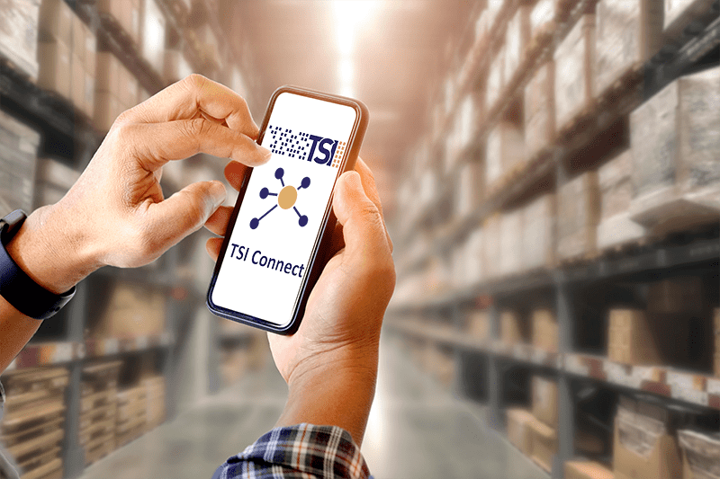 Complete mobile integration with TSI Connect - all your data available at any time